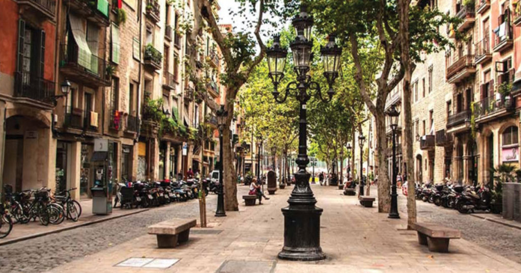 le quartier born à Barcelone
