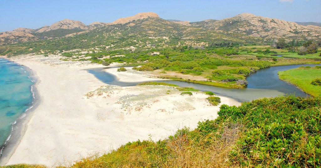 plage de l'Ostriconi