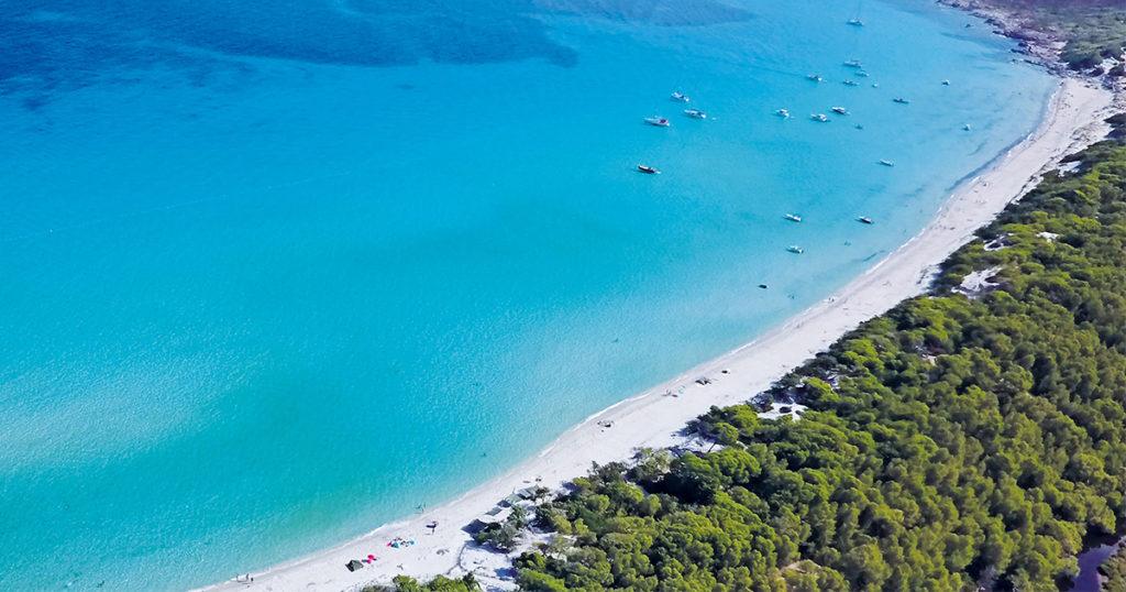 plage corse de Saleccia