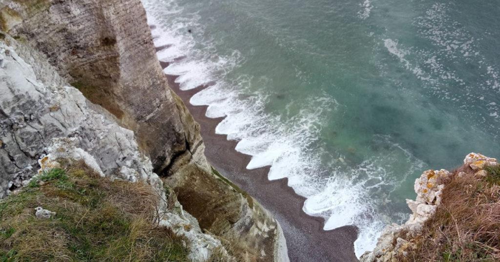 accès à la plage du tilleul