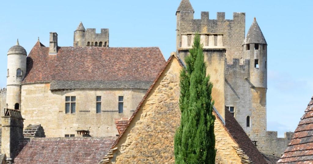 depuis le château de beynac