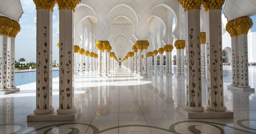 Abu Dhabi la mosquée