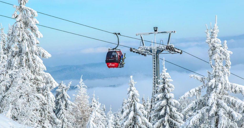 station de ski de l'isère